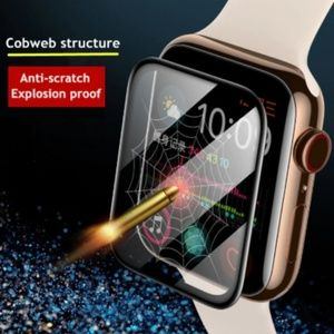 Accessories - 3D Tempered Glass Screen Protector For Apple Watch